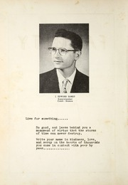 Page 10, 1958 Edition, Gomer High School - Echo Yearbook (Gomer, OH) online yearbook collection