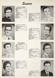 Page 14, 1958 Edition, Gomer High School - Echo Yearbook (Gomer, OH) online yearbook collection