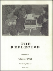 Page 5, 1954 Edition, Nevada High School - Reflector Yearbook (Nevada, OH) online yearbook collection