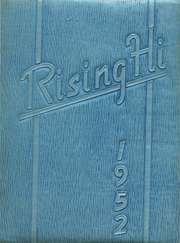 Page 1, 1952 Edition, Risingsun High School - Rising Hi Yearbook (Risingsun, OH) online yearbook collection