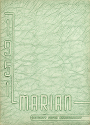 Page 1, 1951 Edition, St Mary High School - Marian Yearbook (Marion, OH) online yearbook collection
