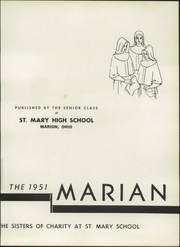 Page 7, 1951 Edition, St Mary High School - Marian Yearbook (Marion, OH) online yearbook collection