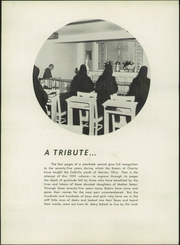 Page 8, 1951 Edition, St Mary High School - Marian Yearbook (Marion, OH) online yearbook collection