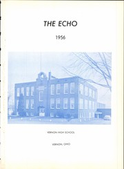 Page 5, 1956 Edition, Vernon High School - V Echo Yearbook (Vernon, OH) online yearbook collection