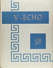 1958 Edition, Vernon High School - V Echo Yearbook (Vernon, OH)