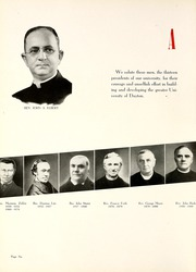 Page 10, 1940 Edition, University of Dayton - Daytonian Yearbook (Dayton, OH) online yearbook collection
