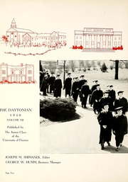 Page 6, 1940 Edition, University of Dayton - Daytonian Yearbook (Dayton, OH) online yearbook collection