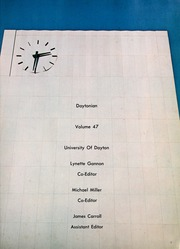 Page 5, 1970 Edition, University of Dayton - Daytonian Yearbook (Dayton, OH) online yearbook collection