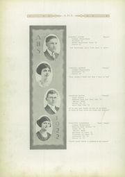 Page 16, 1922 Edition, Ashley High School - Ashlian Yearbook (Ashley, OH) online yearbook collection