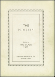 Page 3, 1926 Edition, Shiloh High School - Periscope Yearbook (Shiloh, OH) online yearbook collection