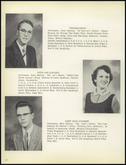 Page 16, 1956 Edition, Shiloh High School - Periscope Yearbook (Shiloh, OH) online yearbook collection