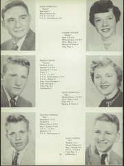 Page 14, 1956 Edition, Sullivan High School - Spotlight Yearbook (Sullivan, OH) online yearbook collection