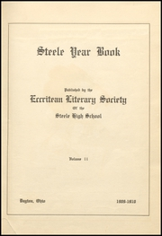 Page 9, 1909 Edition, Steele High School - Annual Yearbook (Dayton, OH) online yearbook collection