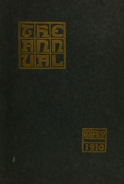 Steele High School - Annual Yearbook (Dayton, OH) online yearbook collection, 1910 Edition, Page 1