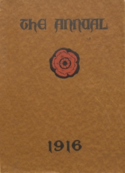 Steele High School - Annual Yearbook (Dayton, OH) online yearbook collection, 1916 Edition, Page 1