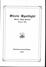 Page 4, 1935 Edition, Steele High School - Annual Yearbook (Dayton, OH) online yearbook collection