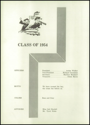 Page 12, 1954 Edition, Johnsville High School - Anchor Yearbook (Shauck, OH) online yearbook collection