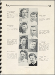 Page 15, 1957 Edition, Big Prairie Lakeville High School - Sentinel Yearbook (Big Prairie, OH) online yearbook collection