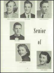 Page 14, 1956 Edition, York High School - Echoes Yearbook (Bellevue, OH) online yearbook collection