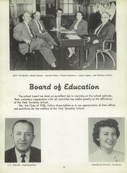 Page 10, 1958 Edition, York High School - Echoes Yearbook (Bellevue, OH) online yearbook collection