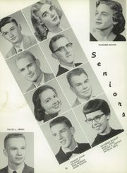 Page 16, 1958 Edition, York High School - Echoes Yearbook (Bellevue, OH) online yearbook collection