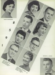 Page 17, 1958 Edition, York High School - Echoes Yearbook (Bellevue, OH) online yearbook collection