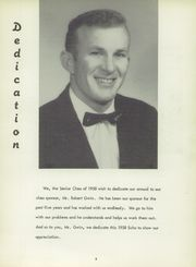 Page 7, 1958 Edition, York High School - Echoes Yearbook (Bellevue, OH) online yearbook collection