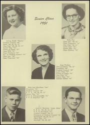 Townsend High School - Optimist Yearbook (Vickery, OH) online yearbook collection, 1951 Edition, Page 9
