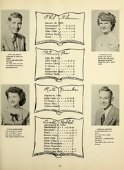 Page 17, 1950 Edition, Willshire High School - Willow Yearbook (Willshire, OH) online yearbook collection