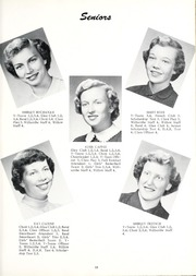 Page 17, 1954 Edition, Willshire High School - Willow Yearbook (Willshire, OH) online yearbook collection