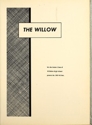 Page 5, 1959 Edition, Willshire High School - Willow Yearbook (Willshire, OH) online yearbook collection