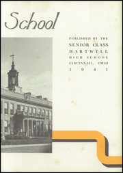 Page 7, 1941 Edition, Hartwell High School - Wave Lengths Yearbook (Cincinnati, OH) online yearbook collection
