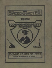 Page 1, 1922 Edition, Portage County High Schools - Speedometer Yearbook (Portage County, OH) online yearbook collection