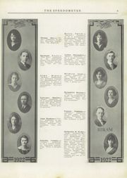 Page 11, 1922 Edition, Portage County High Schools - Speedometer Yearbook (Portage County, OH) online yearbook collection