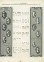 Page 9, 1922 Edition, Portage County High Schools - Speedometer Yearbook (Portage County, OH) online yearbook collection