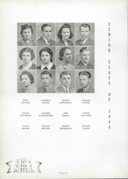 Page 14, 1940 Edition, Canton Township High School - Moderian Yearbook (Canton, OH) online yearbook collection