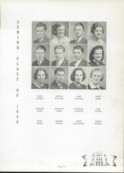 Page 15, 1940 Edition, Canton Township High School - Moderian Yearbook (Canton, OH) online yearbook collection