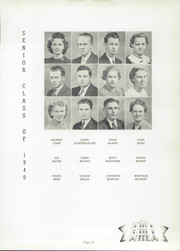 Page 17, 1940 Edition, Canton Township High School - Moderian Yearbook (Canton, OH) online yearbook collection