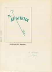 Page 5, 1950 Edition, Oklahoma City University - Keshena Yearbook (Oklahoma City, OK) online yearbook collection