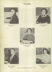 Page 12, 1956 Edition, Perrysville High School - Mohican Yearbook (Perrysville, OH) online yearbook collection