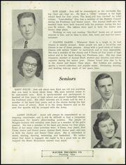 Page 14, 1957 Edition, Hoaglin Jackson High School - Bulldog Yearbook (Van Wert, OH) online yearbook collection