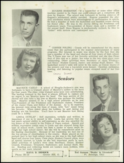 Page 16, 1957 Edition, Hoaglin Jackson High School - Bulldog Yearbook (Van Wert, OH) online yearbook collection
