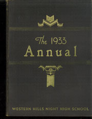 Page 1, 1933 Edition, West Night High School - Echo Yearbook (Cincinnati, OH) online yearbook collection