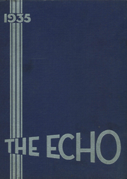 West Night High School - Echo Yearbook (Cincinnati, OH) online yearbook collection, 1935 Edition, Page 1