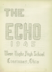 Page 3, 1945 Edition, West Night High School - Echo Yearbook (Cincinnati, OH) online yearbook collection