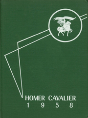 1958 Edition, Homer High School - Cavalier Yearbook (Homerville, OH)