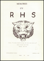 Page 5, 1958 Edition, Scipio Republic High School - Memories Yearbook (Republic, OH) online yearbook collection