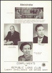 Page 9, 1958 Edition, Scipio Republic High School - Memories Yearbook (Republic, OH) online yearbook collection