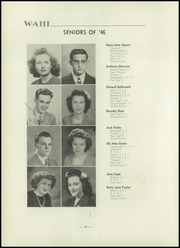 Page 14, 1946 Edition, New Waterford High School - Wahi Yearbook (New Waterford, OH) online yearbook collection