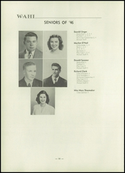 Page 16, 1946 Edition, New Waterford High School - Wahi Yearbook (New Waterford, OH) online yearbook collection